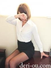 びしょぬれ新人秘書 の メ グさん